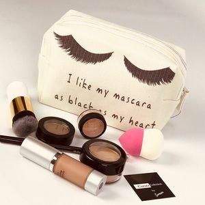 Handbags - 💥NEW💥 I like My Mascara... Cosmetic Pouch